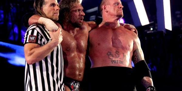 HBK Triple H Undertaker