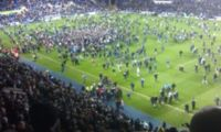 Reading pitch invasion