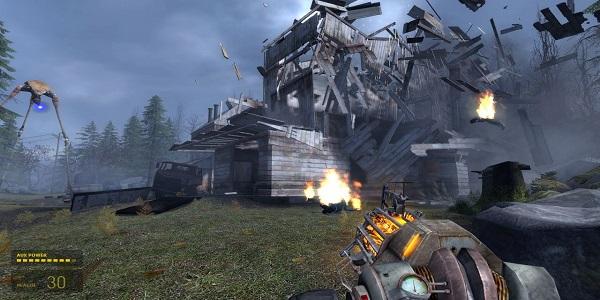 Half Life 2 grav gun