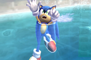sonic drowning