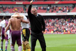 Paul Lambert Vs Arsenal