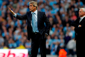 Pellegrini Pardew Man City Vs Newcastle