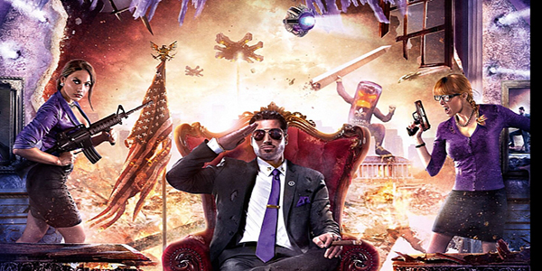 Saints Row 4 Gets Impressive Cover Artwork