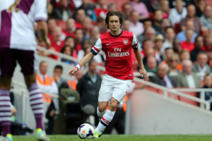 Tomas Rosicky Vs Arsenal