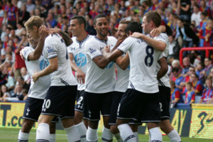 Tottenham Team Soldado Celebration
