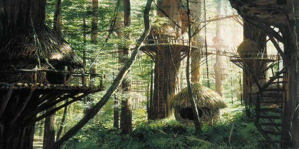 Endor Ewok Village