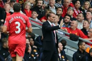 Brendan Rodgers And Jose Enrique