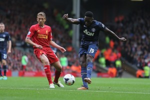 Danny Welbeck And Lucas Leiva