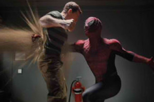 Spider Man Sandman Punch