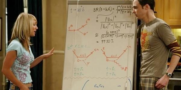The Big Bang Theory String Theory