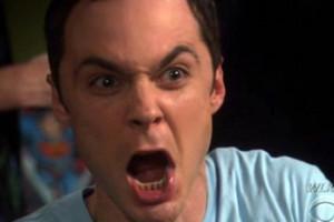 Sheldon Angry