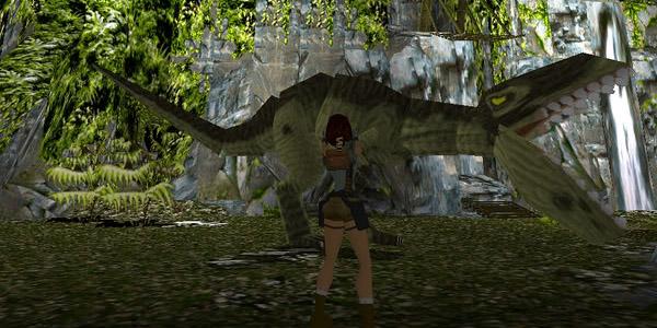 Tomb Raider T Rex