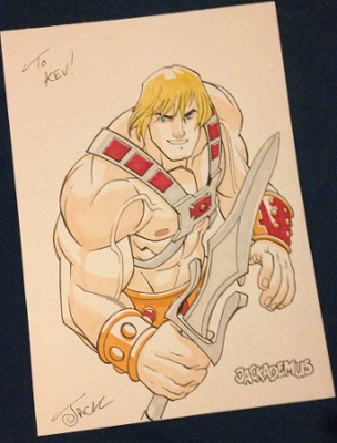 He-Man drawing that Jack Lawrence did for me