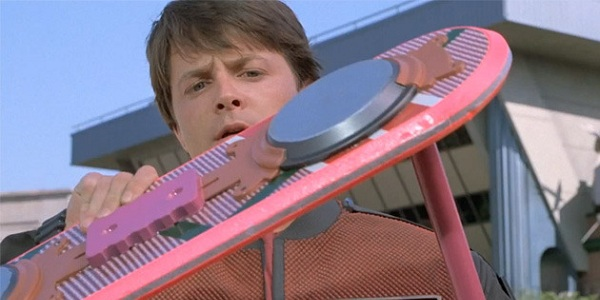 Mattel Hoverboard Back To The Future