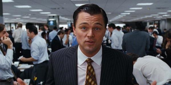 Wolf Of Wall Street fourth wall