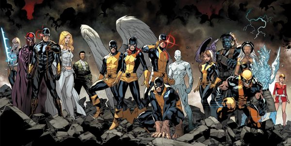 All New Xmen Spread1