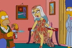 Gaga Simpsons