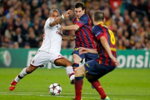 Nigel De Jong Ac Milan Lionel Messi Barcelona