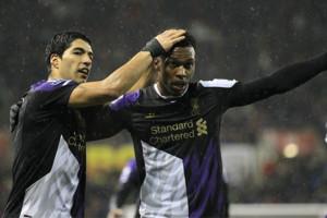 Luis Suarez Daniel Sturridge Liverpool