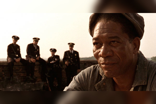 """shawshank redemption movie analysis The movie """"the shawshank redemption"""" is about andy dufresne, a former vice-president of a large portland bank he was wrongfully convicted of."""