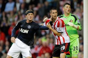Wayne Rooney Man Utd Valetine Roberge Kieran Westwood Sunderland