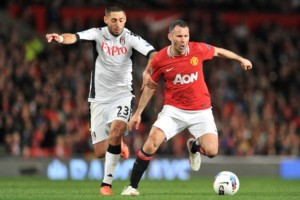 Clint Dempsey Fulham Ryan Giggs Man Utd