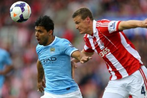 Man City Sergio Aguero Stoke City
