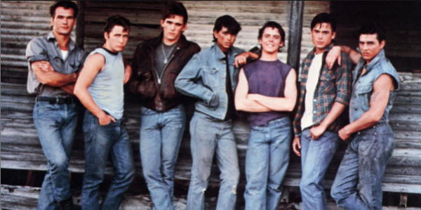 the outsiders social class