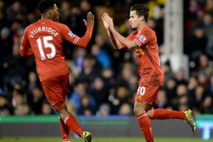 Daniel Sturridge Coutinho Liverpool