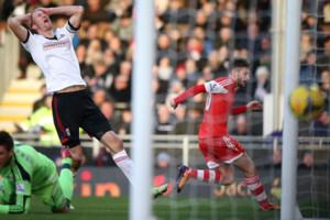 Fulham Brede Hangeland Adam Lallana Southampton