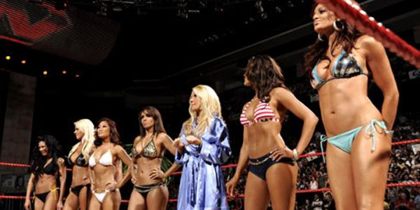For Nearly A Decade Divas Competed In Bra And Panties Lingerie And Bikini Matches Were Big Hits Among The Wwe Fans While Trish Lita Ivory Victoria
