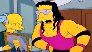 True Story Behind WWE Legend Bret Hart's Cameo On The Simpsons