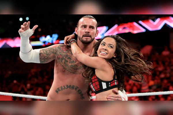 Aj lee dating cm punk in real life