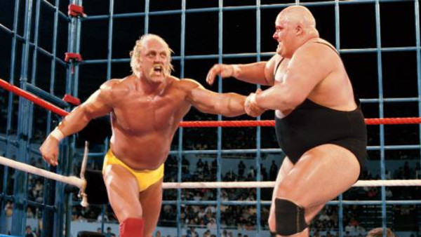 Hulk Hogan King Kong Bundy Cage