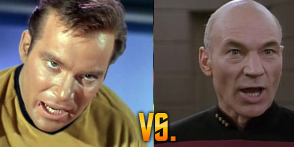 Kirk Vs Picard