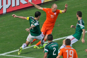 Arjen Robben Holland Dive