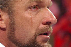 Triple H Crying
