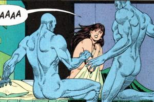 Watchmen Doctor Manhattan Silk Spectre