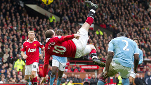 Wayne Rooney Goal Man Utd Man City