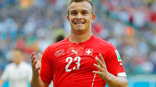 Xherdan Shaqiri Switzerland World Cup