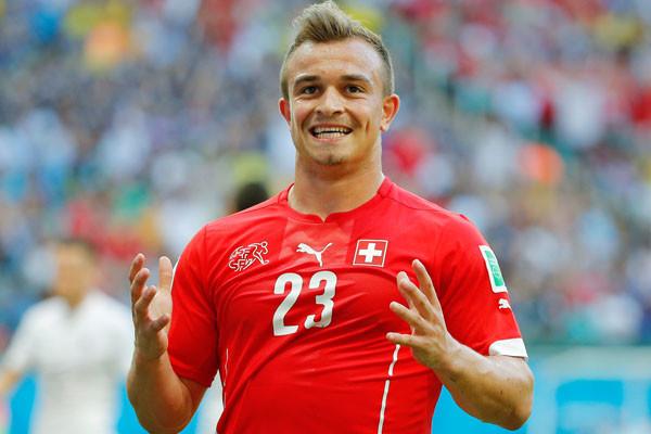 Xherdan Shaqiri Switzerland World Cup