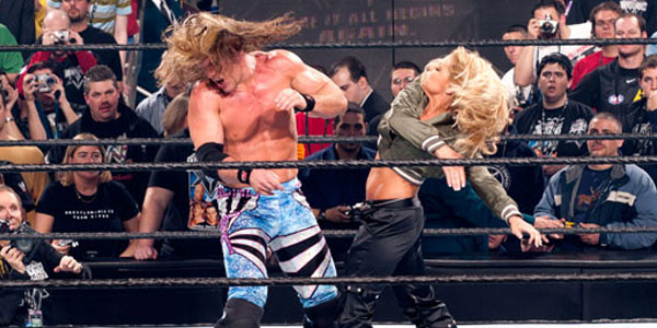 Image result for trish, y2j and christian