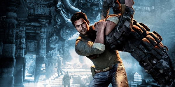 Uncharted 2 Nathan Drake Choke Out