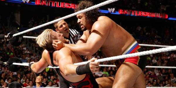Image result for Battleground 2014 Rusev vs Swagger