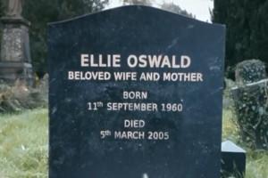 Doctor Who Ellie Oswald Grave