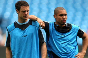 Wayne Bridge Nigel De Jong Man City