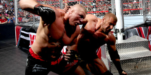 Brock Lesnar Triple H