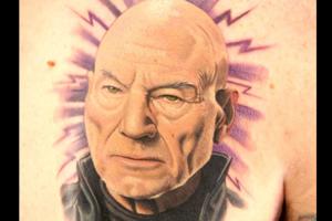 Charles Xavier Tattoo