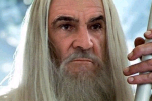 Sean Connery As Gandalf Lord of the Rings
