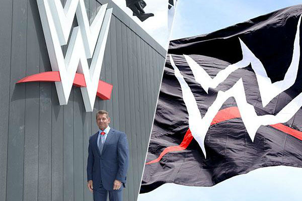 Vince McMahon Officially Raises New WWE Logo